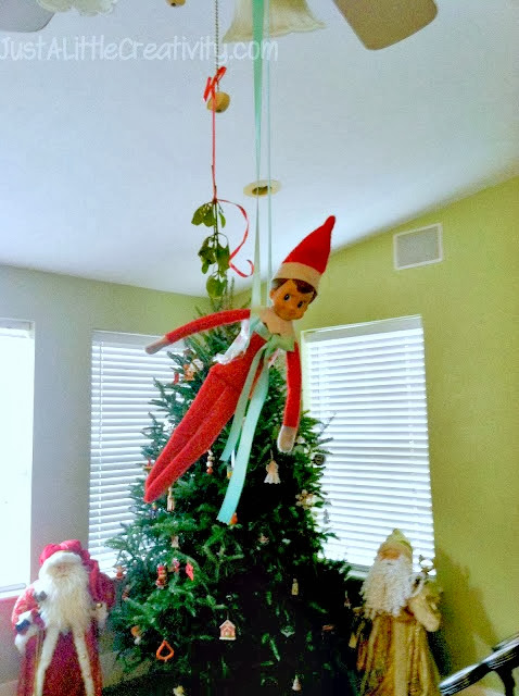 More Ideas For The Elf On The Shelf From Ringo Bells 2012