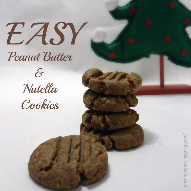 Easy Peanut Butter And Nutella Cookies Christmas Cookie Exchange