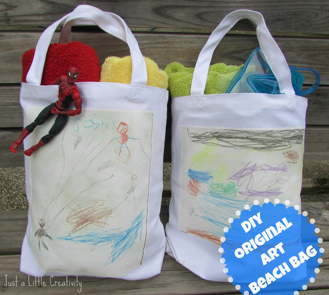 We Go To The Beach And Pool A LOT During Summer So Good Bag Is Must Also Do Lot Of Creative Projects Art