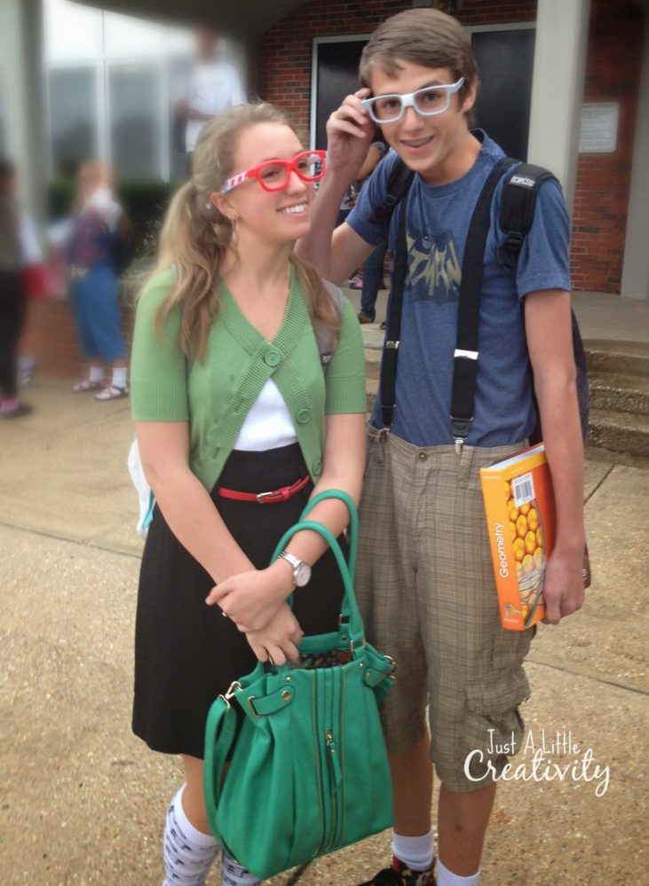 Nerd Day Costume Ideas For Homecoming