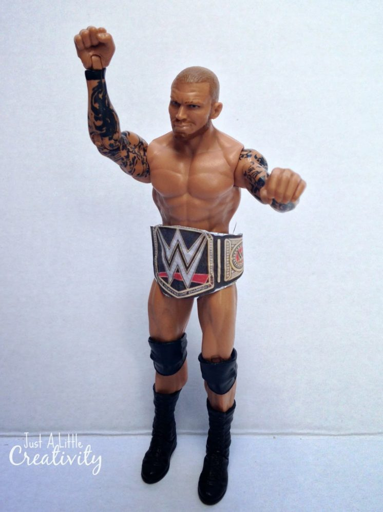 Wwe Toys For Boys Christmas : How to make a wwe action figure toy title belt with