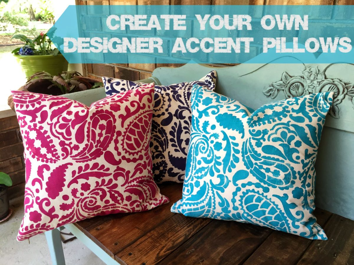 Create Your Own Designer Accent Pillows  PLUS a Giveaway  - Just a ... 74127af2020d