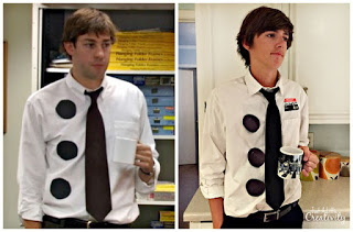 Make a no sew dr seuss shirt thing one and thing two just a nerd day homecoming costume ideas solutioingenieria Images