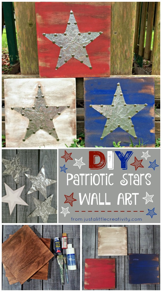 Create Your Own Patriotic Decor Americana Metal And Wood