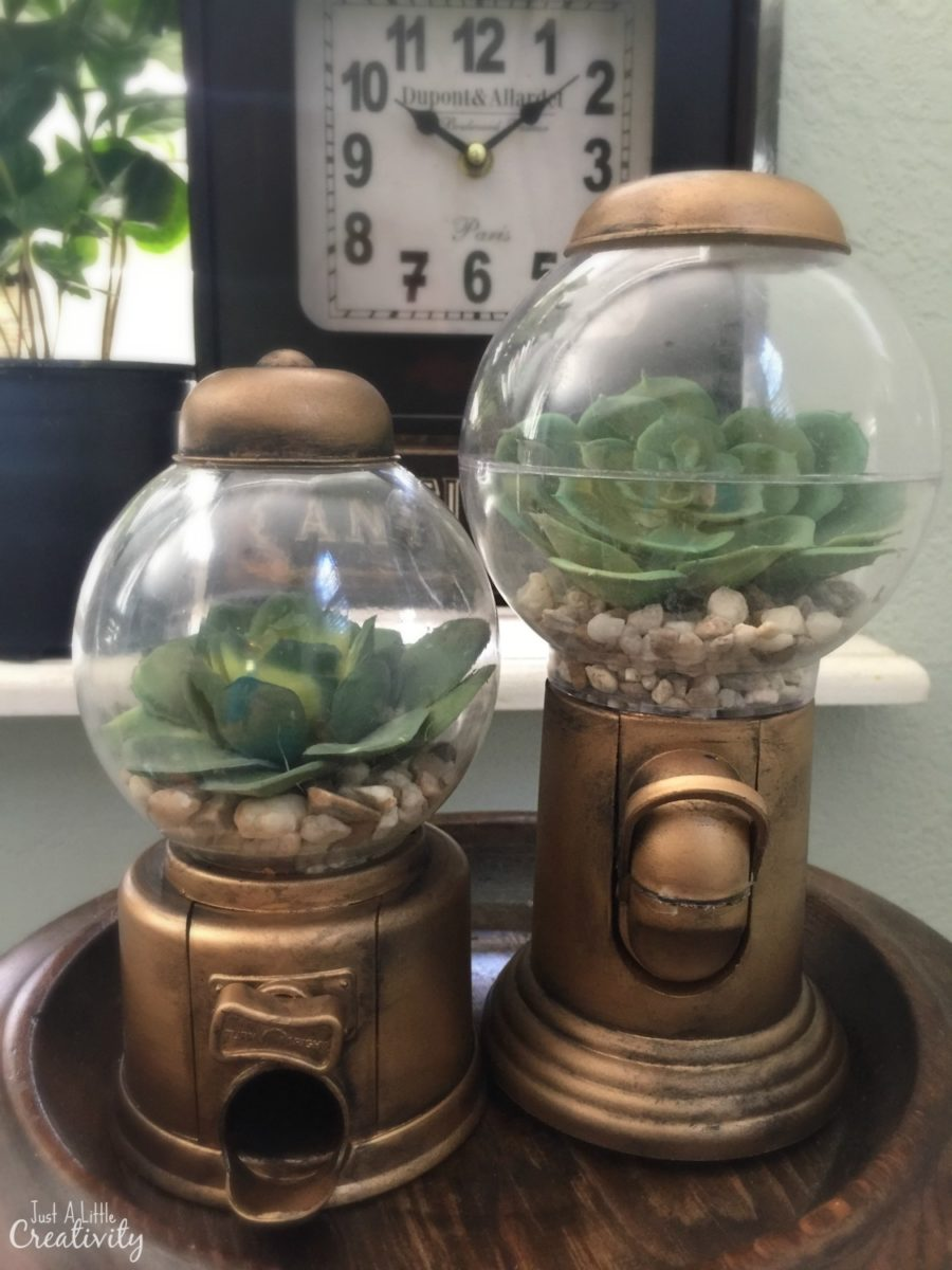 Create These Diy Faux Antique Gumball Machines