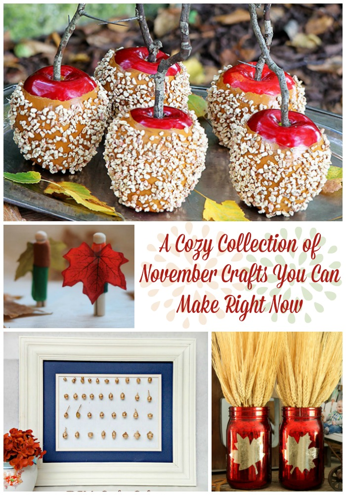 A Cozy Collection Of November Crafts You Can Make Right Now