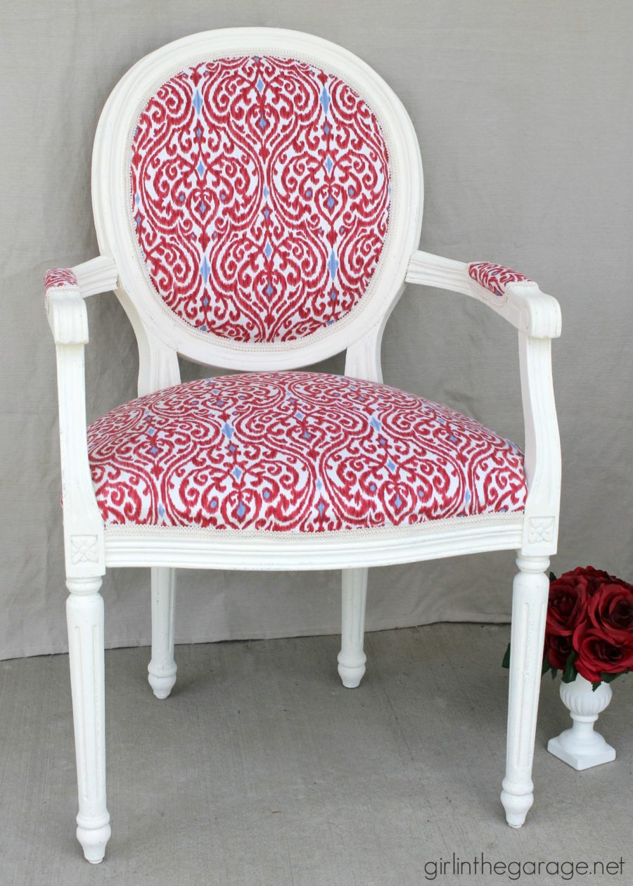 A Dozen Pretty Red Amp Pink Furniture Makeovers Just A