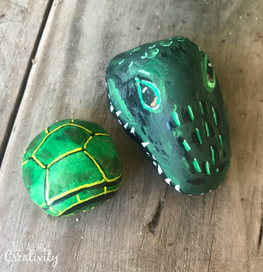 St Patrick S Day Painted Rocks