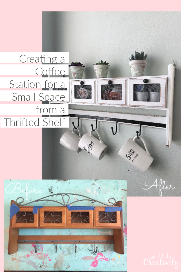 Tiny Craftsman Comes With Espresso Station: Creating A Coffee Station For A Small Space