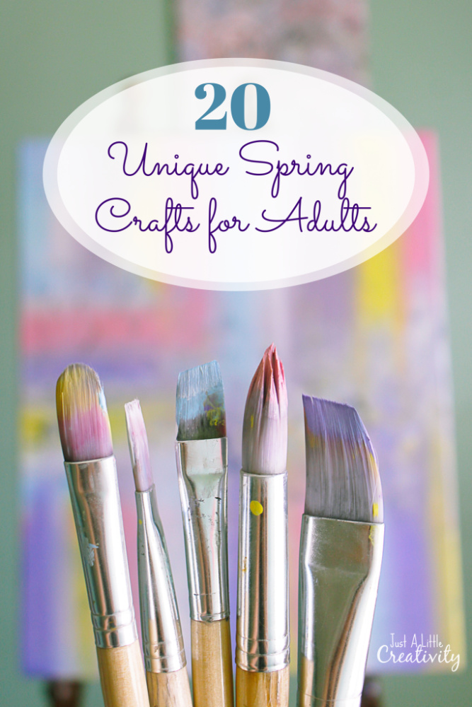 20 Unique Spring Crafts For Adults Just A Little Creativity