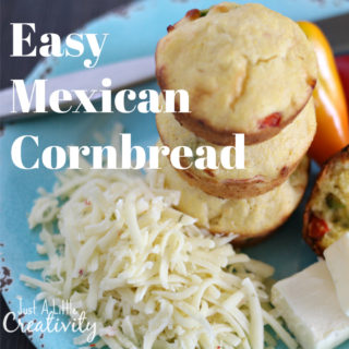 Easy Mexican corn bread recipe | Easy side dish for weeknight or busy weekend meals | Common questions about cornbread answered