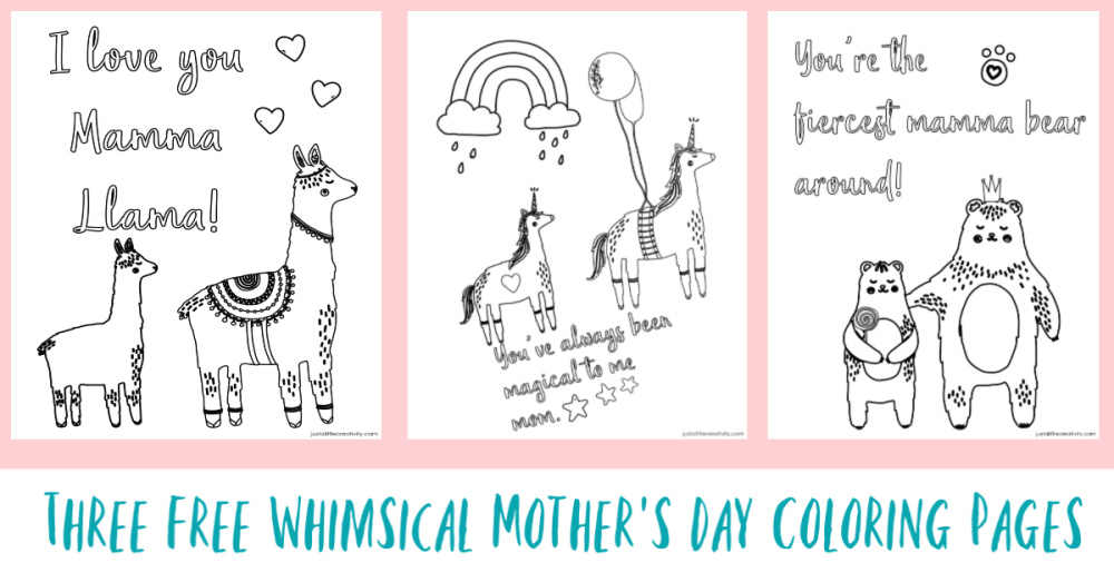 Free Mother's day coloring pages - Mothers Day coloring sheets | 523x1000