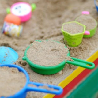 A round up of cool products and ideas to create a backyard playground for kids that you can find right on Amazon